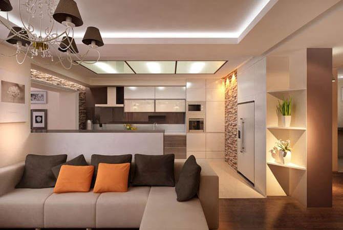 Дизайн маленькой 2-х комнатной квартиры фото