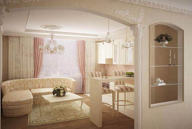 дизайн комнаты 40 квм