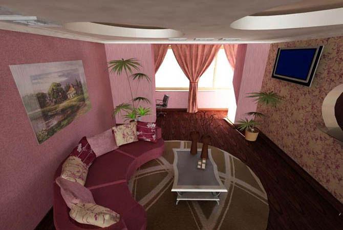 дизайн детских комнат и гостиных