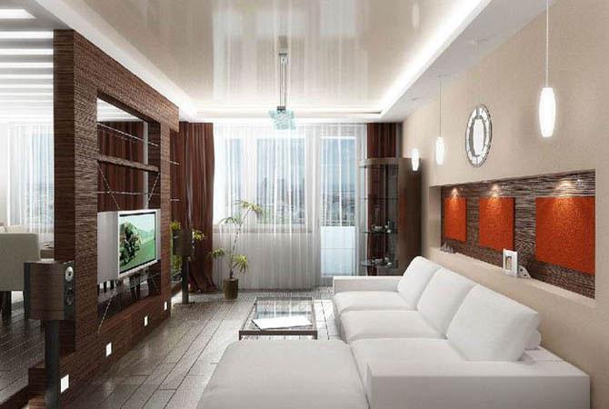 дизайн потолков квартир из гвл