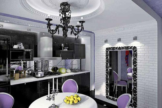 Дизайн квартиры 80кв