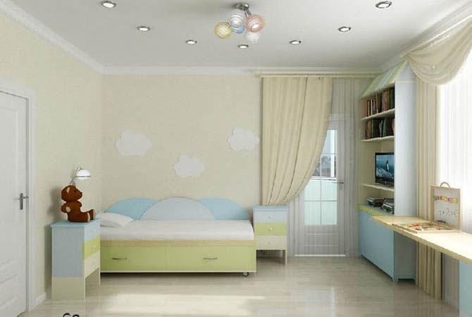 интерьер дизайн 1-комнатной квартиры