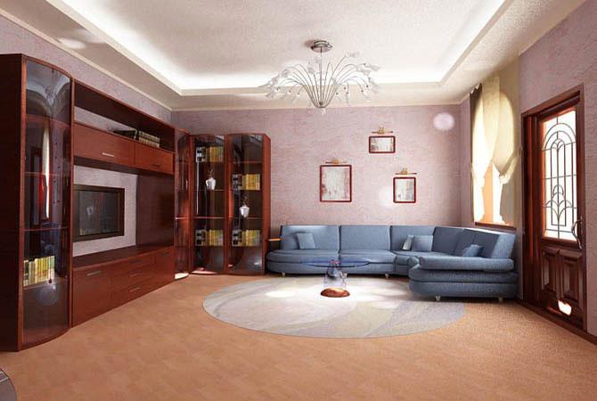 интерьер квартир в русскрм стиле