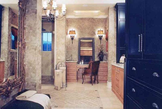 новое в дизайне ванных комнат