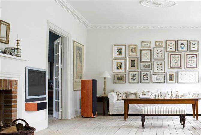 красивый дизайн квартиры обоев