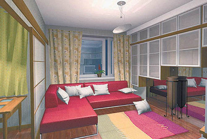 дизайн проект комнаты бесплатно