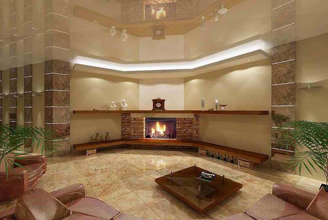 дизайн интерьера комнат отдыха