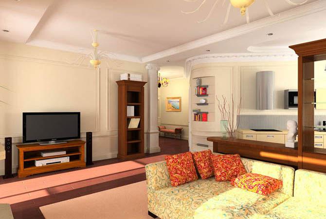 фото интерьеров в 3-комнатной квартирах гнабережные челны